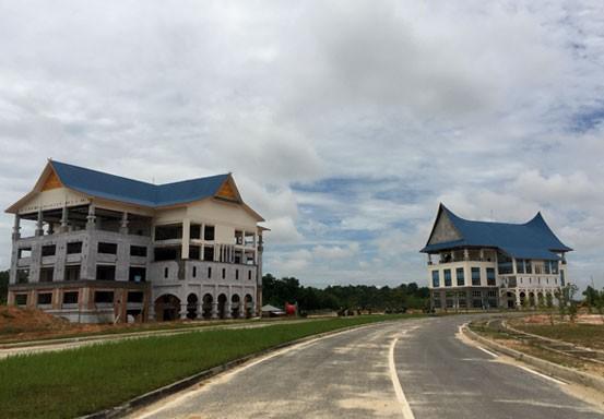 PUPR Pekanbaru Gesa Dua Gedung Perkantoran di Tenayan Raya