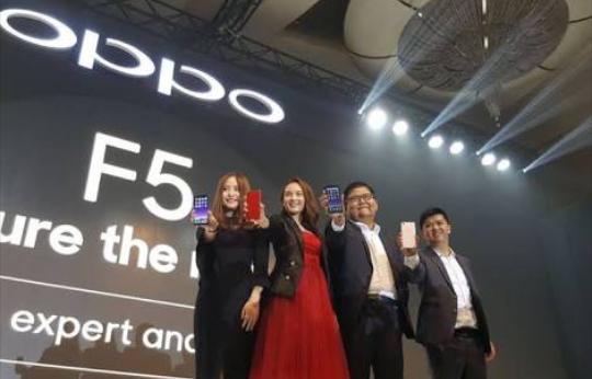 Oppo F5 Resmi Diluncurkan, Ini Spesifikasi Lengkapnya