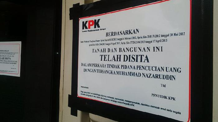 Diduga Terkait TPPU Nazaruddin, KPK Sita Satu Ruko di Sudirman Pekanbaru