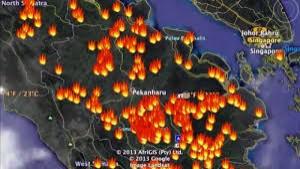 35 Hotspot Terdeteksi di Propinsi Riau