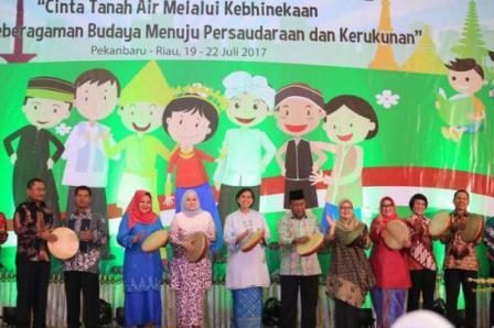 Seribu Anak Usia di bawah 18 Tahun Dari Seluruh Penjuru Nusantara Ikuti Forum Anak Nasional 2017