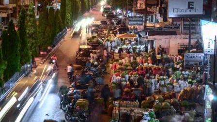 Tertibkan Bongkar Muat Sayuran Di Tuanku Tambusai dan Pasar Pagi, Walikota Terjunkan 250 Personel