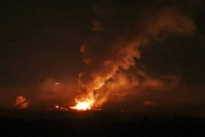 Israel Kembali Luncurkan Serangan Udara di Gaza