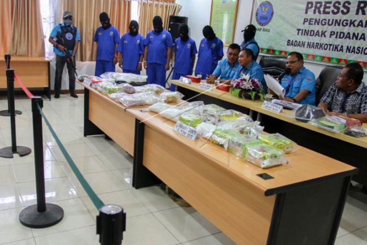 Narapidana di Pekanbaru dan Jakarta Atur Peredaran Narkoba di Riau