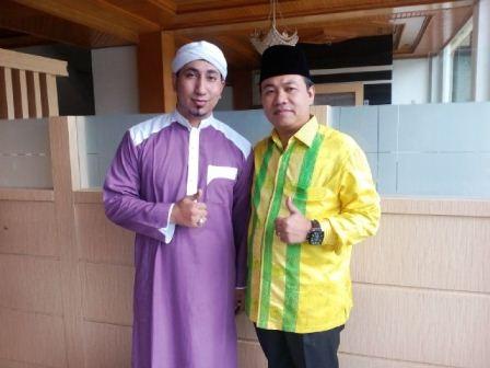 Legislator Riau Adakan Acara Sukuran dan Tablig Akbar Dua Titik di Inhu
