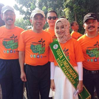 Duta Lingkungan Riau, Michiko Frizdew Mahasiswa UNRI Berprestasi