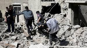 Korban di Ghouta Timur Terus Bertambah Menjadi 59 orang