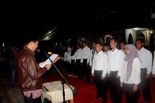 Advetorial- Walikota Pekanbaru Dr. Firdaus ST. MT. Mengukuhkan Forum Masyarakat Peduli Sungai Siak