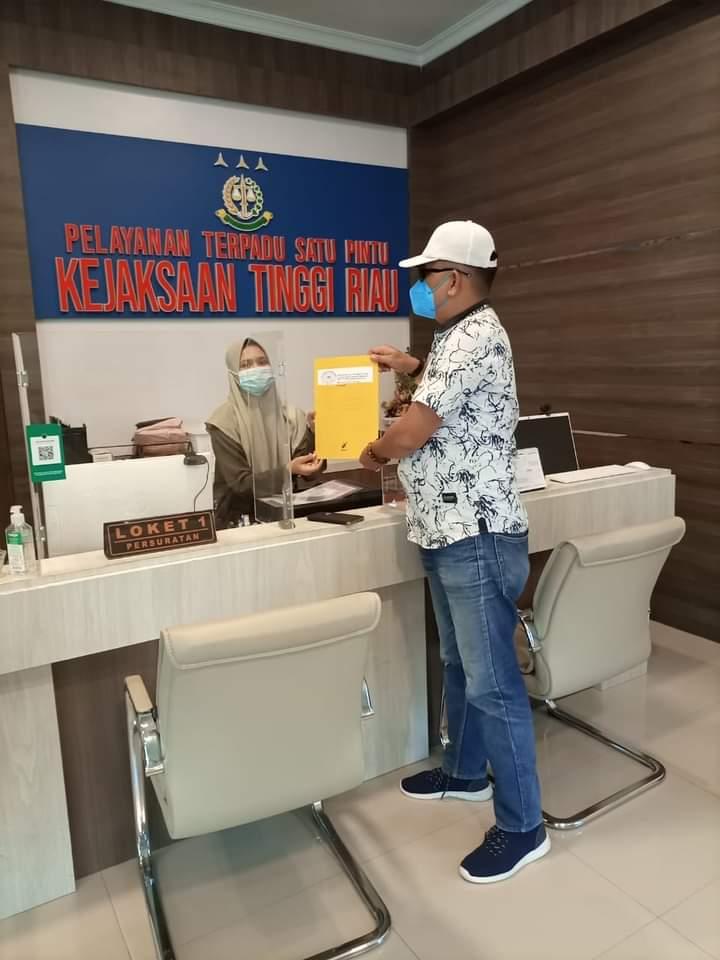 Pak Kajati! Tolong Kami, Temuan di DPRD Provinsi Riau Jadikan 'Role Model' Penanganan Kasus Korupsi