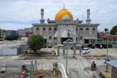 Masnur Janji Akan Selamatkan Cagar Budaya Mesjid Raya Pekanbaru
