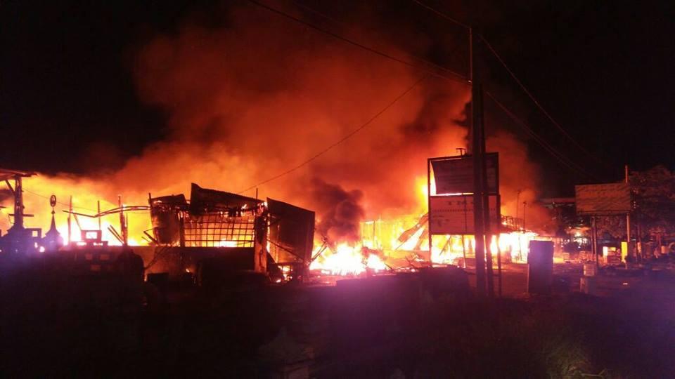 Penyebab Kebakaran 13 Kios Di Tobek Godang Pekanbaru Masih Dalam Penyelidikan Polisi