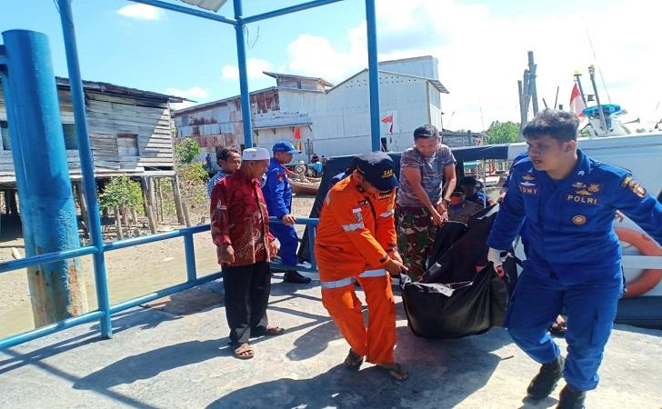Satu Jenazah Perempuan Korban Kapal Tenggelam di Perairan Rupat Ditemukan Meninggal