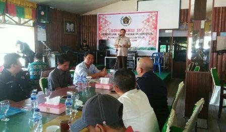 Agenda Pemilihan Ketua , Konferensi PWI Perwakilan Kabupaten Inhil Ke-3 Digelar