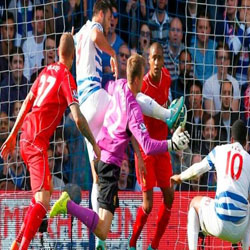 Liverpool menang dramatis atas QPR, Inter-Napoli Berakhir Imbang