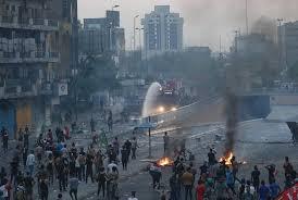 Pendemo Blokir Jalan, Sekolah di Irak Ditutup