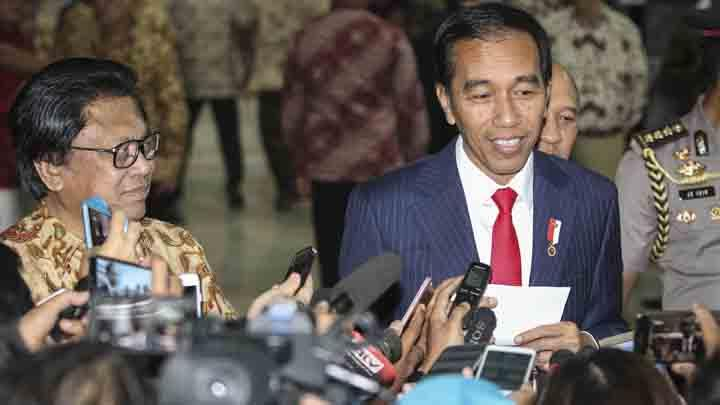 Oesman Sapta Bertemu Jokowi, Bahas Cawapres 2019