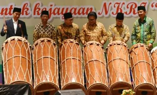 Presiden Jokowi : Dengan Mengucap Bismillah, Saya Buka Munas KAHMI