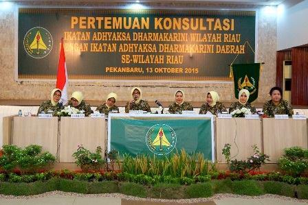 Ikatan Adhyaksa Dharmakarini Wilayah Riau Mengadakan Kegiatan Pertemuan Konsultasi