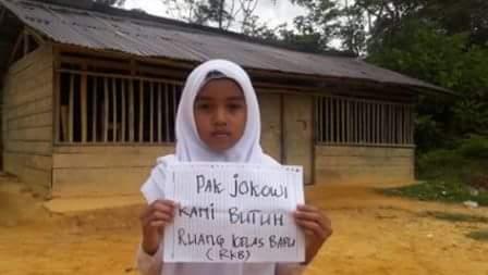 Ironi Negri Kaya, Inilah Kondisi Sekolah Di Desa Batu Sasak Riau Dalam Kondisi Menyedihkan