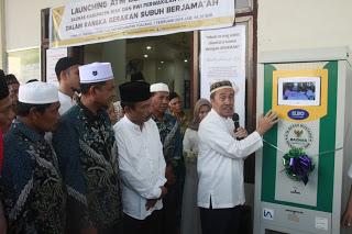 Syamsuar Launching ATM Beras Baznas di Tualang