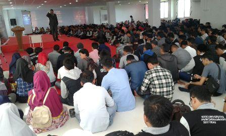 Universitas Muhammadiyah Riau Beri Pembekalan Akhir KKN PMW.