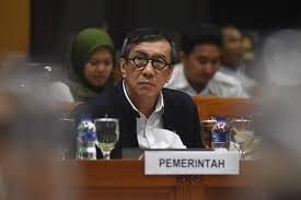 Yasonna Bilang PP Bisa Ubah UU di Omnibus Law sebagai Kesalahan