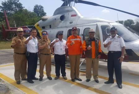 Lima Helikopter Dikerahkan Padamkan Karhutla di Dumai