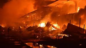 Kebakaran di Pasar Duri Bengkalis Memakan Korban Jiwa