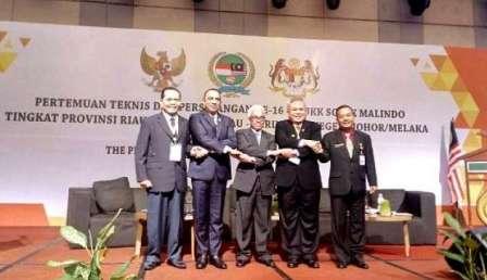 Riau Agendakan Pembahasan Ekonomi-Keamanan Bilateral Dalam Pertemuan Sosek Malindo