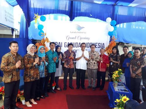 PT Garuda Indonesia (Persero) Tbk Buka Gerai di Bangkinang