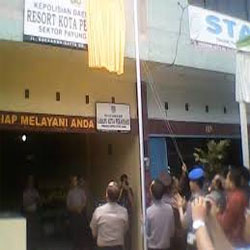 Masuk DIPA 2008 Rp800 Juta, Realisasi Pembangunan Kantor Polsek Payung Sekaki Belum Jelas