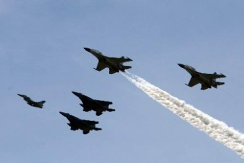 UEA Sebut Pesawat Tempur Qatar Cegat Penerbangan Sipil
