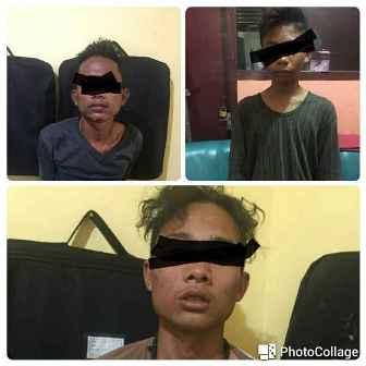 3 Remaja Inhil Pencuri 7 Sepeda Motor Ditangkap di Pekanbaru