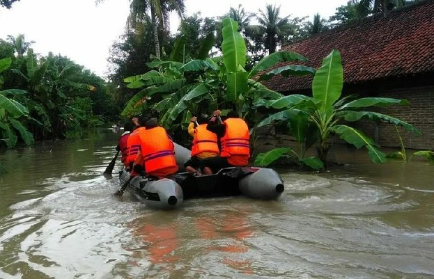 1.568 Jiwa Mengungsi Akibat Banjir di Purworejo Pagi Ini