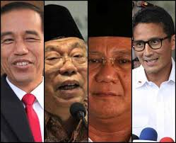 Beda Cara Jokowi dan Prabowo Umumkan Cawapres 2019