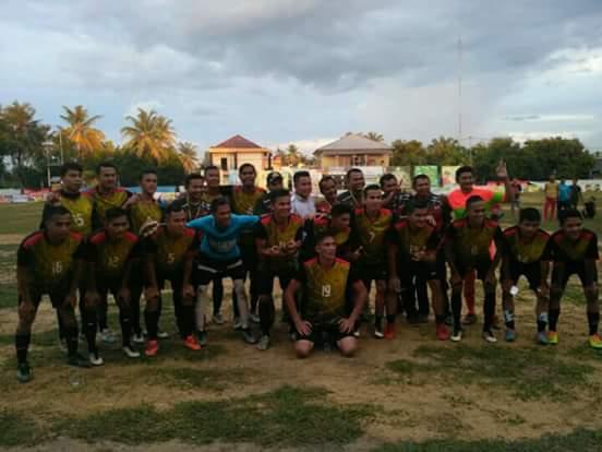 Besok Final Turnamen Sepak Bola Karang Taruna Kampar Kiri