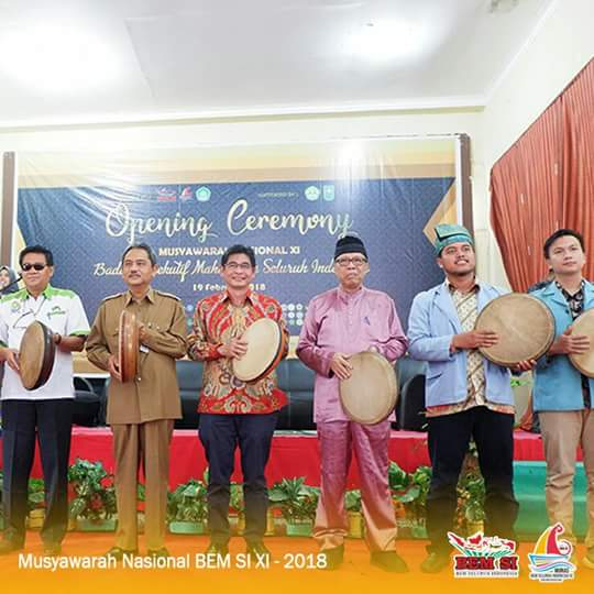 Opening Ceremony Musyawarah Nasional Aliansi BEM SI XI