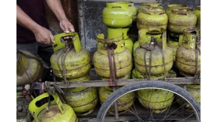 Gas Elpiji 3 Kg di Riau Tembus Rp 23.000 per Tabung