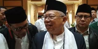 Ma'ruf Amin Angkat Topi untuk Tagar 2019 Prabowo Presiden