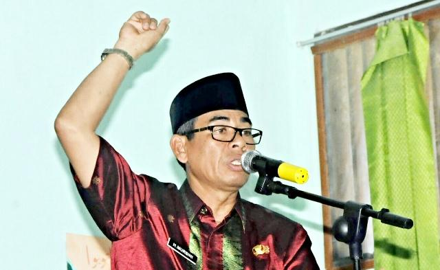 Bupati Kuansing Hadiri Halal Bi Halal Muhammadiyah
