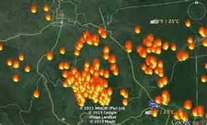 Hotspot Kembali Muncul di Sumatera