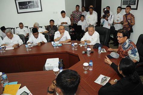Tiga Menteri Turun Tangan Bahas Pembangunan Tol Pekanbaru-Dumai