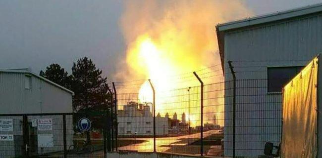 Pusat Gas Utama Austria Meledak, Pasokan Ke Eropa Turun