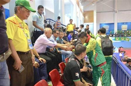 Gubri mengharapkan agar atlet-atlet Riau dapat menciptakan sport sains