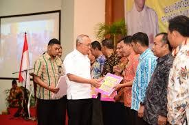 Gubernur Riau Launching Program Pemberdayaan Ekonomi Desa