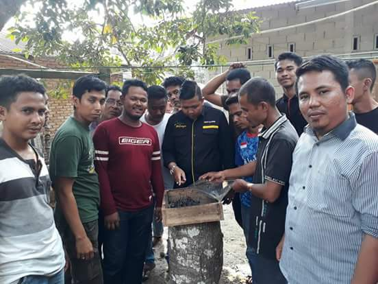 Pijar Melayu Bentuk Kelompok UMKM Madu Galo – Galo (Kelulut) Di Kecamatan Kuok Kampar