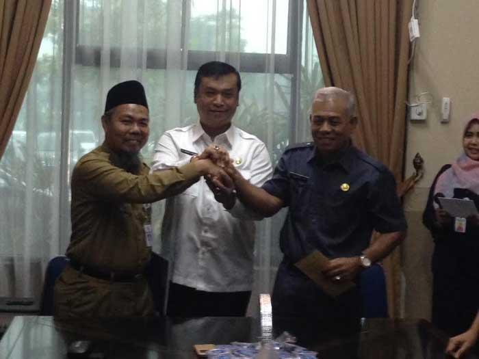 Ditinggal Nasri,Posisi Kepala Dinas Cipta Karya Kota Pekanbaru resmi diisi Zulkifli