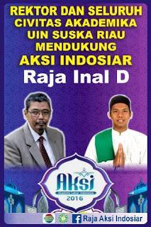 Raja Inal Dapat Dukungan Langsung Dari Rektor UIN Suska Riau