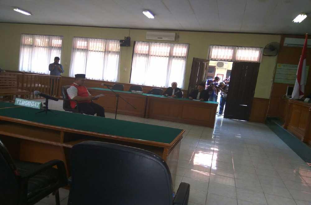 Terdakwa Saracen Dijebloskan ke Rutan Pekanbaru