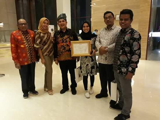 HPN 2018 di Padang, SPS Riau Raih Penghargaan Terbaik Kedua se-Indonesia